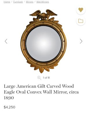 Antique Federal Eagle Convex Mirror for Sale in Bonney Lake, WA