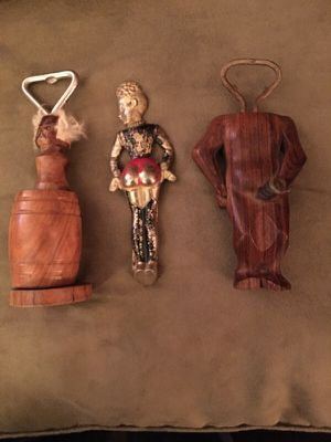 Antique sexy bottle openers and corkscrews for Sale in Santa Monica, CA