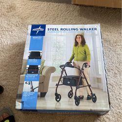 Steel Rolling Walker New $60 0bo for Sale in Phoenix,  AZ