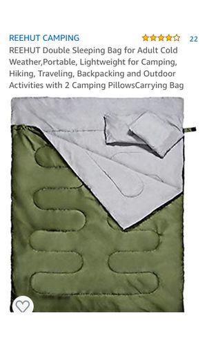 Rehire double sleeping bag for Sale in Rancho Cucamonga, CA