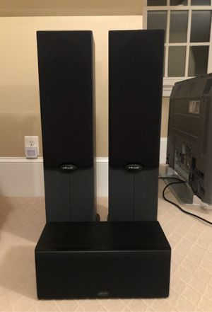 2 Polk Audio RT600 Speakers with Subwoofer for Sale in Lorton, VA