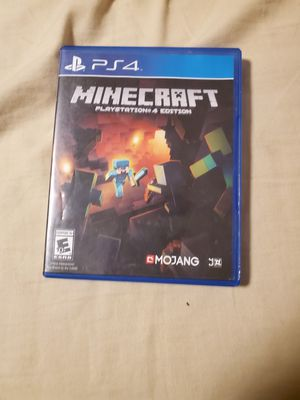 Minecraft for ps4 for Sale in Las Vegas, NV