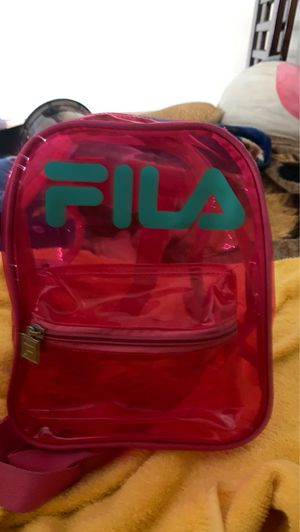 Pink mini fila backpack for Sale in Los Angeles, CA