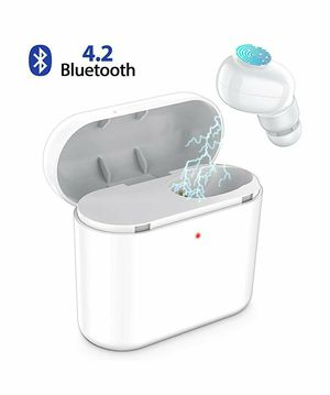 Bluetooth Earbud,ownta Wireless Headphones with Light Charging Case Headset Single Earbud Compatible Smart for Sale in Rancho Cucamonga, CA