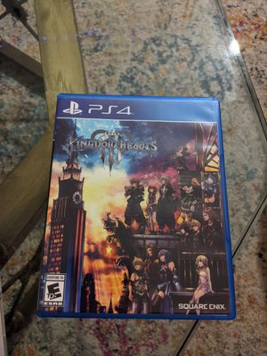 Kingdom Hearts III PS4/PS5 Physical for Sale in Palm Springs, CA