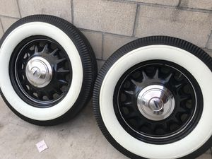 White wall tires and rims size 17 new tires for Sale in San Diego, CA
