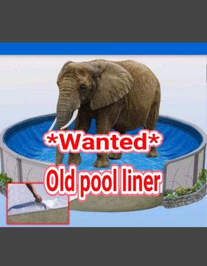 Looking for a old Pool Liner for Sale in Puyallup, WA