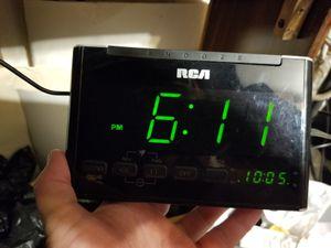 RCA digital alarm clock for Sale in Tempe, AZ