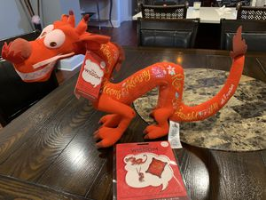 Mushu plush and pin set for Sale in Chicago, IL