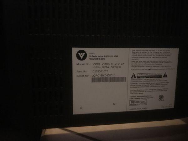 """37"""" Vizio LCD TV"""