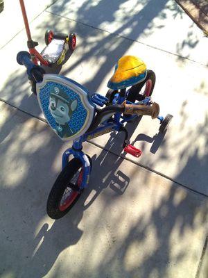 Small paw patrol bike for Sale in Anaheim, CA