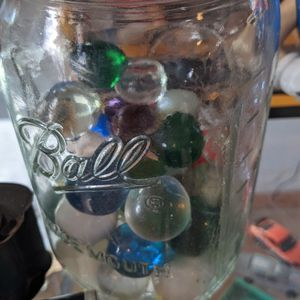Vintage Glass Handmade Big Marbles Individual Or Whole Jar for Sale in Winchester, CA