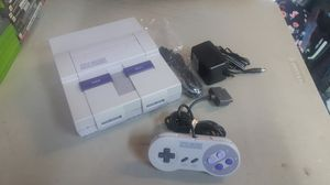 Snes complete w/controller and cables for Sale in Rancho Cucamonga, CA