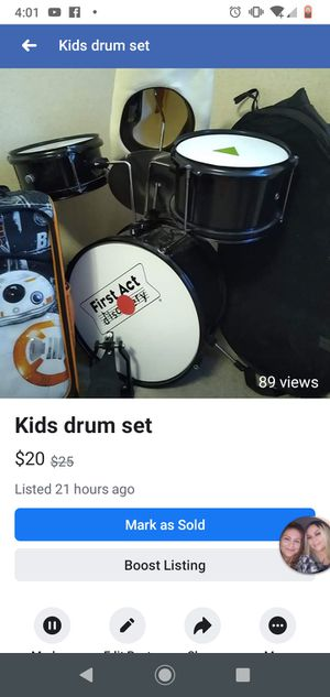Drum set kids for Sale in Picher, OK