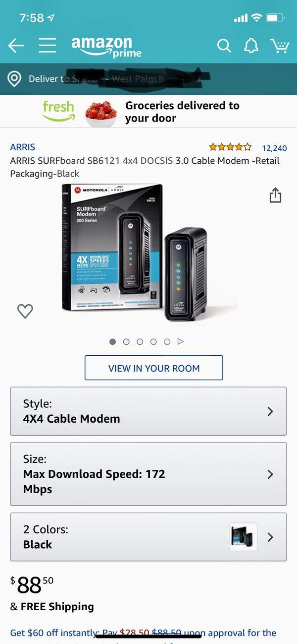 Cable Modem (Arris SB6121)