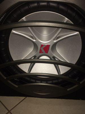 """Kicker subwoofer 12"""" 900watts for Sale in Adelphi, MD"""