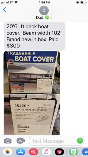 Boat cover for Sale in Red Bank, NJ
