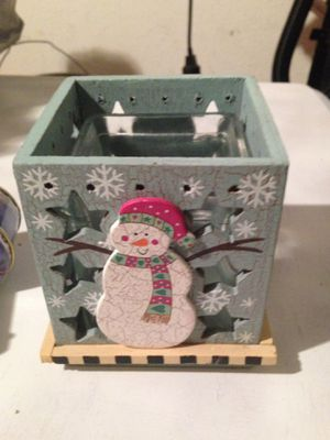 Christmas candle holders for Sale in Winter Haven, FL