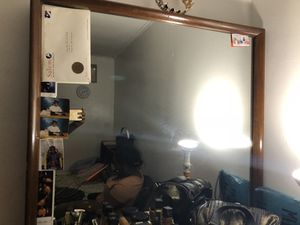 Antic dresser with mirror for $70 for Sale in Swampscott, MA