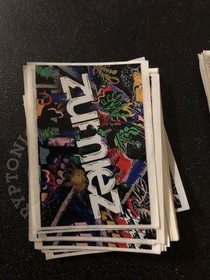 ZUMIEZ STICKERS for Sale in San Diego, CA
