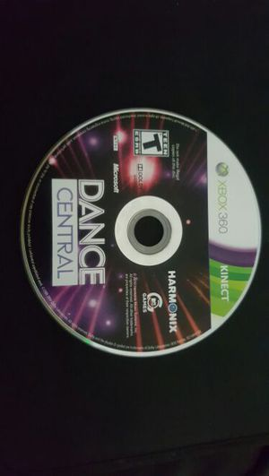 DANCE CENTRAL XBOX 360 for Sale in Daly City, CA