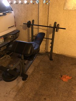 Marcy strength bench. for Sale in Las Vegas,  NV