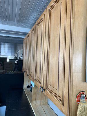 Upper kitchen/garage cabinets for Sale in Tampa, FL