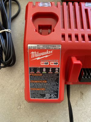Milwaukee M12 and M18 Battery Charger for Sale in El Cajon, CA