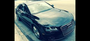 Audi A7 Black 2012 for Sale in Davie, FL