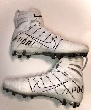 Nike Vapor Untouchable 3 Elite Flyknit Football Cleats White Size 13 AH7408-110 for Sale in Zachary, LA