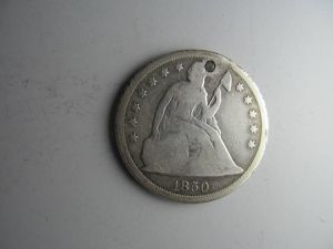 1850-O Seated Liberty Dollar -- MEGA RARE, ONLY 40,000 COINS MINTED! for Sale in Bolingbrook, IL