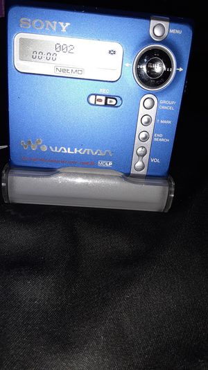 SONY Mini Disc player w/charger for Sale in Denver, CO