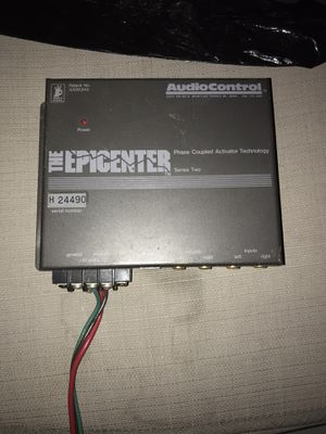 The Epicenter audio control for Sale in Union City, CA