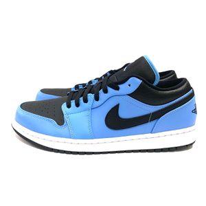 Air Jordan 1 Low UNC University Blue Black Shoes 553558-403 Men Size 11.5, 12, 13 New for Sale in San Antonio, TX