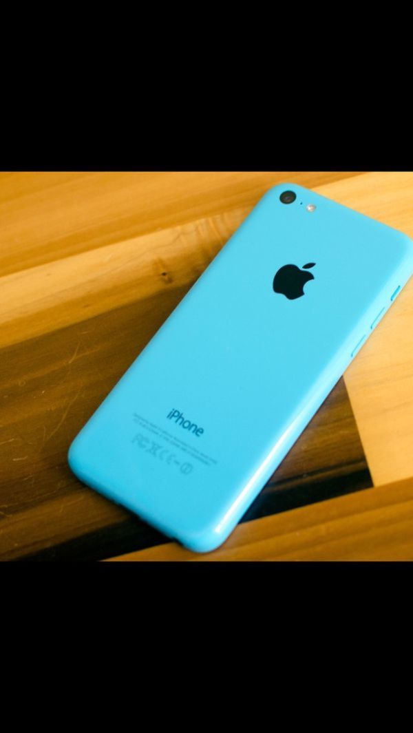 (Blue)iPhone 5c ,Factory Unlocked Excellent Condition