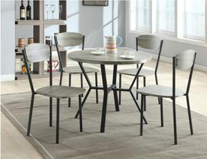 5PC round breakfast dining set for Sale in Buena Park, CA