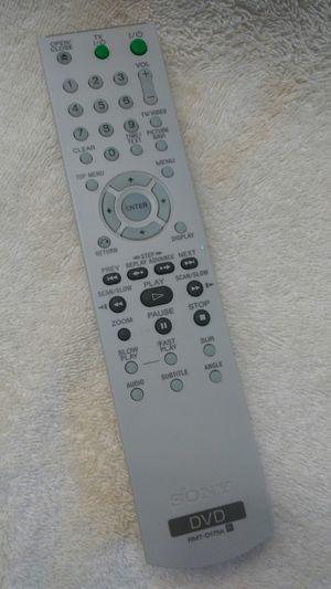 SONY DVD remote for Sale in DeFuniak Springs, FL
