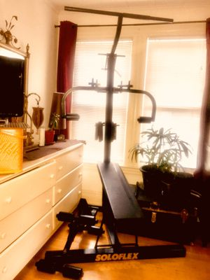Home gym professional equipment Soloflex exercise prefer to have local buyer that would want to pick it up . for Sale in Rochester, NY
