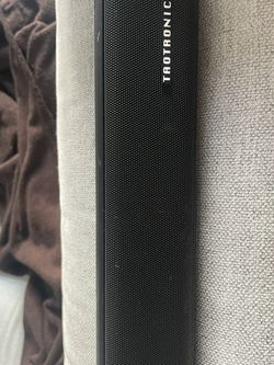 TAOTRONICS Sound bar And Remote for Sale in Redwood City,  CA