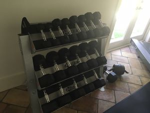 Weights set with storage bench for Sale in Miami Beach, FL