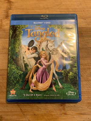 Disney Tangled Blu-Ray for Sale in Sacramento, CA