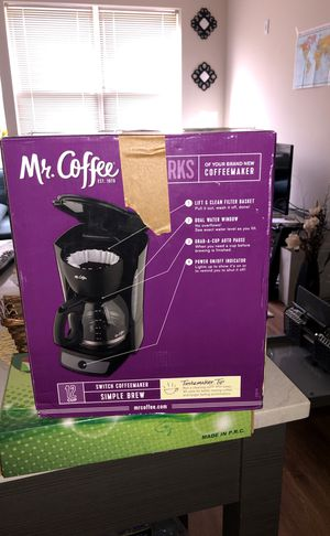 Mr. Coffee maker for Sale in Annandale, VA