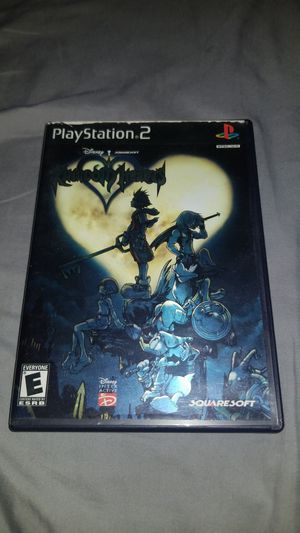 Disney Kingdom Hearts Black Label Complete With Manual for Sale in Ontario, CA