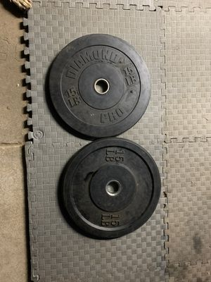 Rubber weights 15lb for Sale in Fullerton, CA