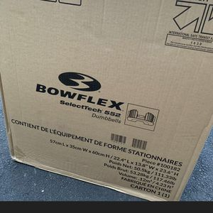 BOWFLEX 552 SelectTech (PAIR) Adjustable Dumbbells for Sale in Harrisburg, PA