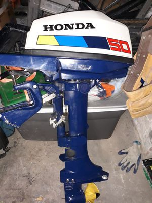 Honda bf50 5hp outboard boat motor for Sale in Fall River, MA