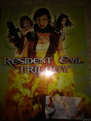 Resident evil Trilogy for Sale in Columbus, OH