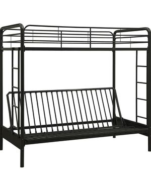 Twin over futon bunk bed for Sale in Richmond Heights, OH
