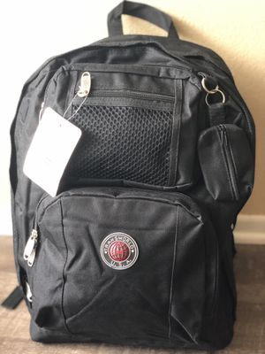 Large black backpack. New with tags!! for Sale in Fontana, CA
