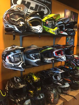 New dot off road dirt bike motorcycle helmet s $85 and up for Sale in Santa Fe Springs, CA